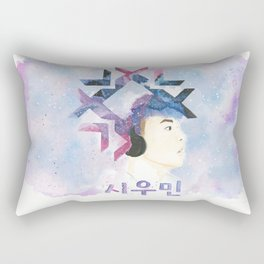 snow xiumin Rectangular Pillow