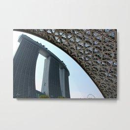 Singapore 02 Metal Print