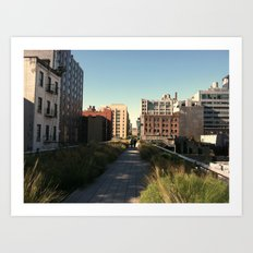 The Highline Art Print