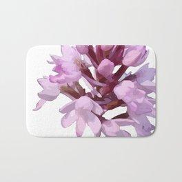 Pink Orchid Wildflower Bath Mat