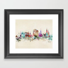 edinburgh scotland Framed Art Print