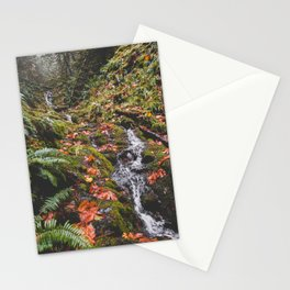 PNW Fall Waterfall Stationery Cards
