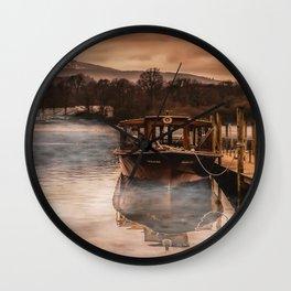 Lakeland Mist Wall Clock