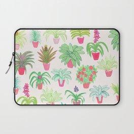 Tropical Houseplants Laptop Sleeve