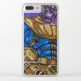 """""""The Mad Titan"""" Clear iPhone Case"""