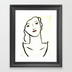 Sketched Framed Art Print