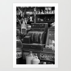 Cash Register Art Print