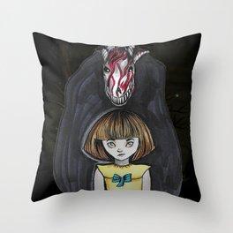 Fran Bow Throw Pillow
