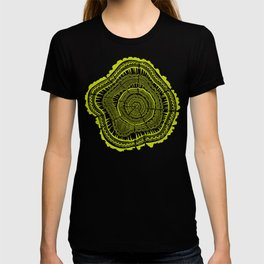 Lime Tree Rings T-shirt