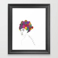 Fashion Illustration 3  Framed Art Print