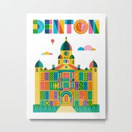 Denton Courthouse Metal Print
