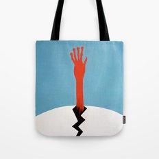 Alien birth Tote Bag