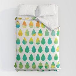 Monsoon Rain Comforters