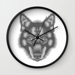 Hex: Lobo Ibérico Wall Clock