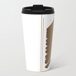 A Cup Of Coffee Metal Travel Mug