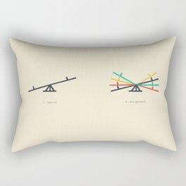 Tit for Tat Rectangular Pillow