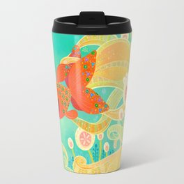 The golden meeting Travel Mug
