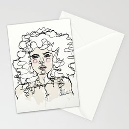Natural Curls Stationery Cards