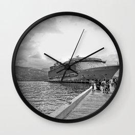 Vacation Transportation Wall Clock