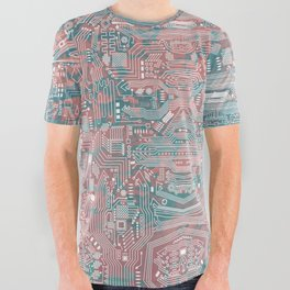 Circuitry Details 2 All Over Graphic Tee