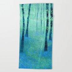 Bluebells, Challock Beach Towel