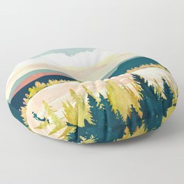 Lake Forest Floor Pillow