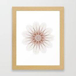 Consternation of Love Framed Art Print