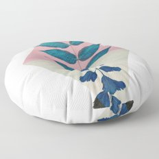 Geometry and Nature I Floor Pillow