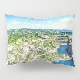 Blue Lagoon. Pillow Sham