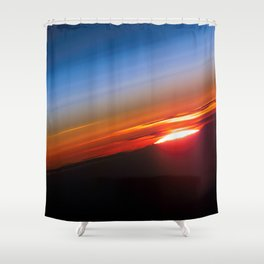 Sunrise Horizons Shower Curtain