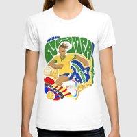 neymar T-shirts featuring Neymar by Simon Estrada
