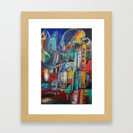 Underground Movement Framed Art Print