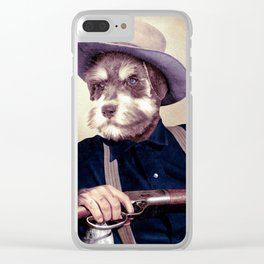 Wayne Dog Clear iPhone Case