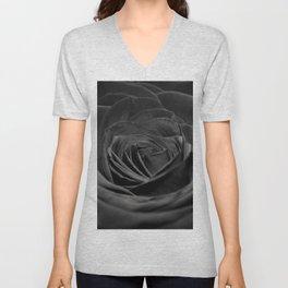 Grey Rose Unisex V-Neck