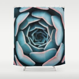 suck on your shade of blue Shower Curtain