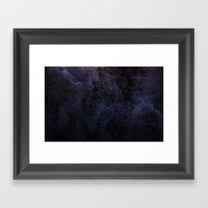 Acqua Nebulae 5 Framed Art Print