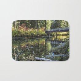 Fall at Clear Lake, No. 2 Bath Mat