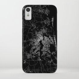 Jacksonville map iPhone Case