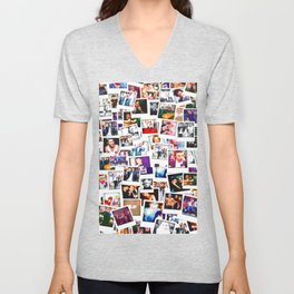 POLAROID ONE DIRECTION 1D Unisex V-Neck