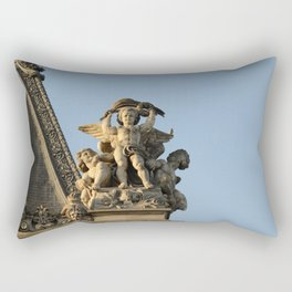 Angels of the Louvre Rectangular Pillow