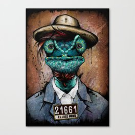 The Usual Suspects // El Loco Manu Canvas Print