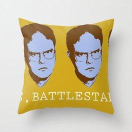 Dwightism Throw Pillow