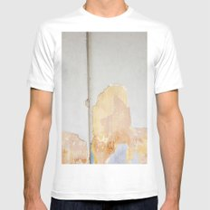 malaysian wall  White Mens Fitted Tee MEDIUM