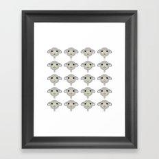 Classic Sheep Framed Art Print