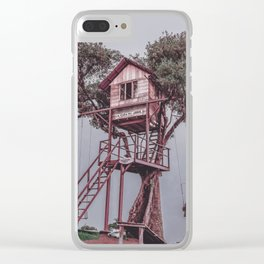 Treehouse - Baños, Ecuador Clear iPhone Case