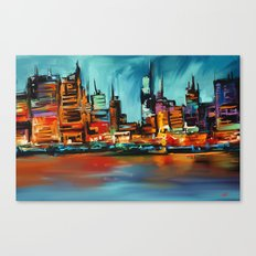 City Scapes Canvas Print