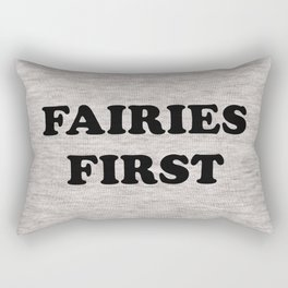 Fairies first Rectangular Pillow