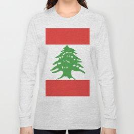 Lebanon flag emblem Long Sleeve T-shirt