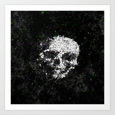 Death Shuffle Art Print