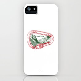 Yosemite Climbing Carabiner iPhone Case